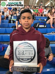 A photo of Isa Rahman, Best Young Martial Artist of the Year Nominee