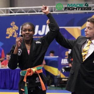 A photo of Nia Blackman, Best Young Martial Artist of the Year Nominee