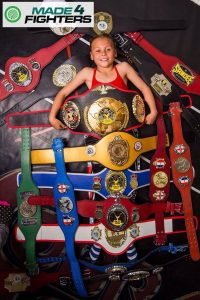 A photo of Tiah Ayton, Best Young Martial Artist of the Year Nominee