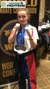A photo of Tiff Richardson, Best Young Martial Artist of the Year Nominee