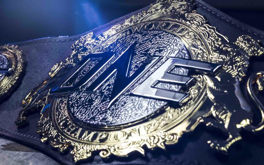 ONE World Championship Belt: Most Valuable Prize in Martial Arts