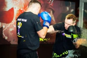 A photo of Richard Smith from his Bad Company Muay Thai Instructional volume