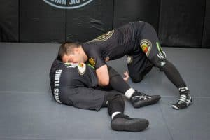 A photo of Lyubo Kumbarov from his Elite Wrestling for BJJ & MMA instructional volume