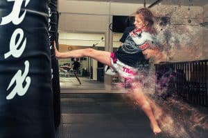 A photo of Best Young Martial Artist Warrior Collective Award Nominee Jodie McCarthy