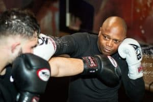 A photo of Vos Gym K-1 Kickboxing Coach Ivan Hippolyte