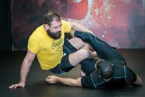 A photo of Ed Ingamells from the blog post on how to keep mount in No Gi Grappling