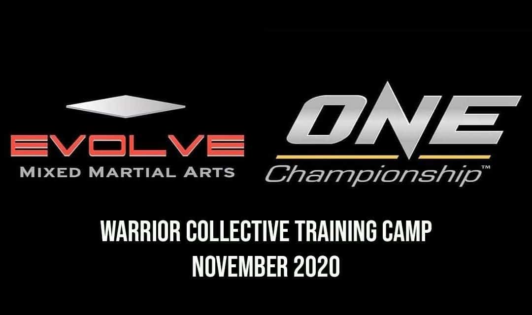 Evolve MMA / ONE Championship Training Camp – Exclusive Warrior Collective Trip November 2020