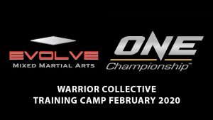 A photo of the Evolve MMA / ONE Championship Collaborated Warrior Collective Trip