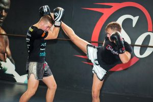 Two of Ernesto Hoost's fighters demonstrating high volume striking