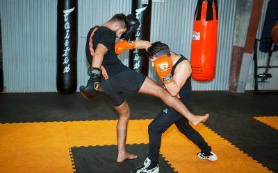 Kickboxing Sparring – Countering Low Kicks using Boxing with Jay Jauncey