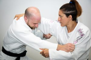 A photo of Sophie Cox from the The Power of Judo - Judo for BJJ Volume